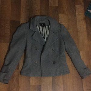 H&M grey jacket size 4